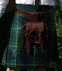 "Kilt traditionnel ""Kingussie pleating"""