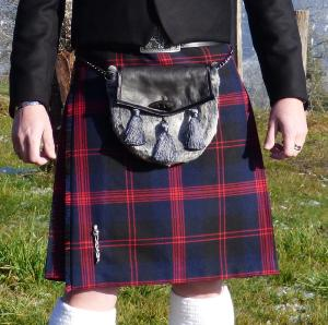 "Kilt traditionnel ""Knife pleating"""