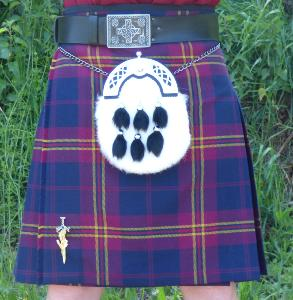 "Kilt Traditionnel ""Picobox Pleating"""