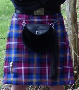"Kilt traditionnel ""Box pleating"""